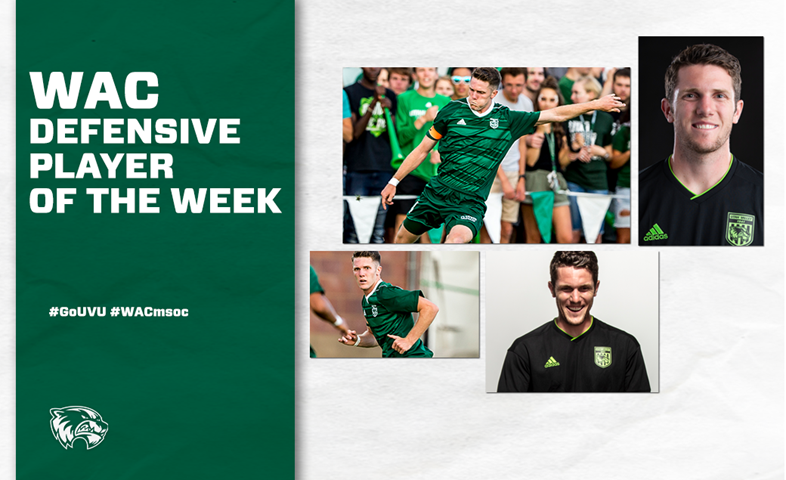 Caprio named WAC Defensive Player of the Week